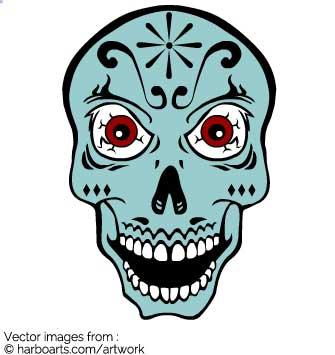 335x355 Download Crazy Eyes Sugar Skull