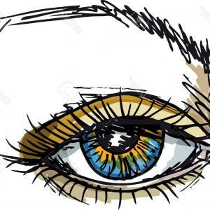 300x300 Crazy Cartoon Eyes Vector Illustration Gm Sohadacouri