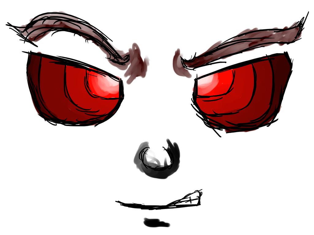 1024x768 Crazy Face Drawing D