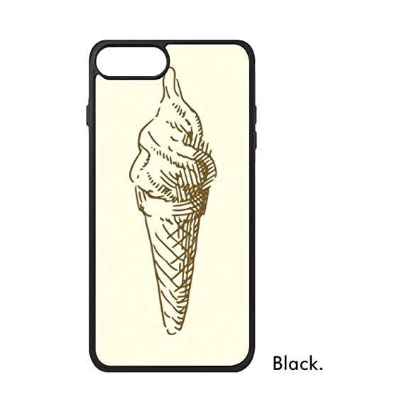 569x569 Brown Hand Drawings Sweet Ice Cream For Iphone Plus