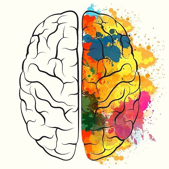 550x550 Creative Brain Posters