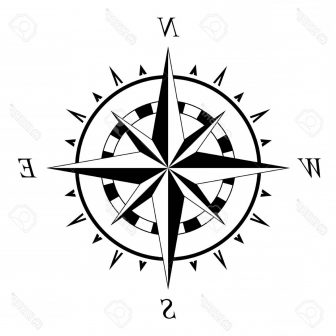 336x336 Compass Rose Drawing Images Ideas Fancy Easy Cool Ajedrezdeen
