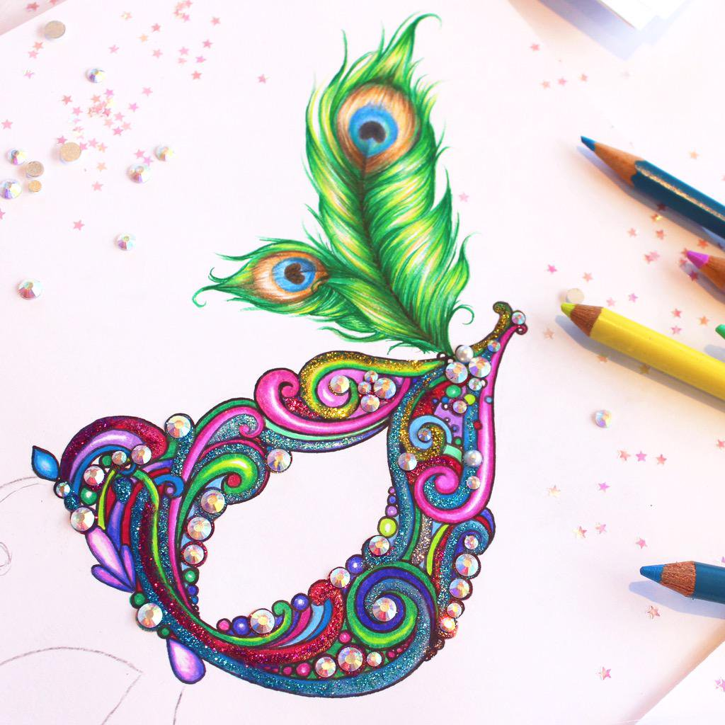 1024x1024 Creative Drawing Ideas Colourful