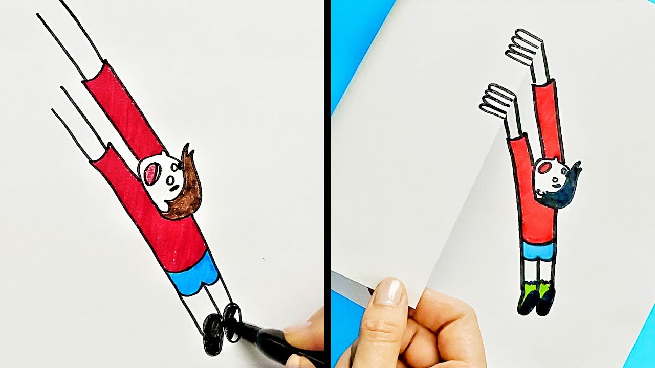 1280x720 Cool Drawing Tricks And Ideas