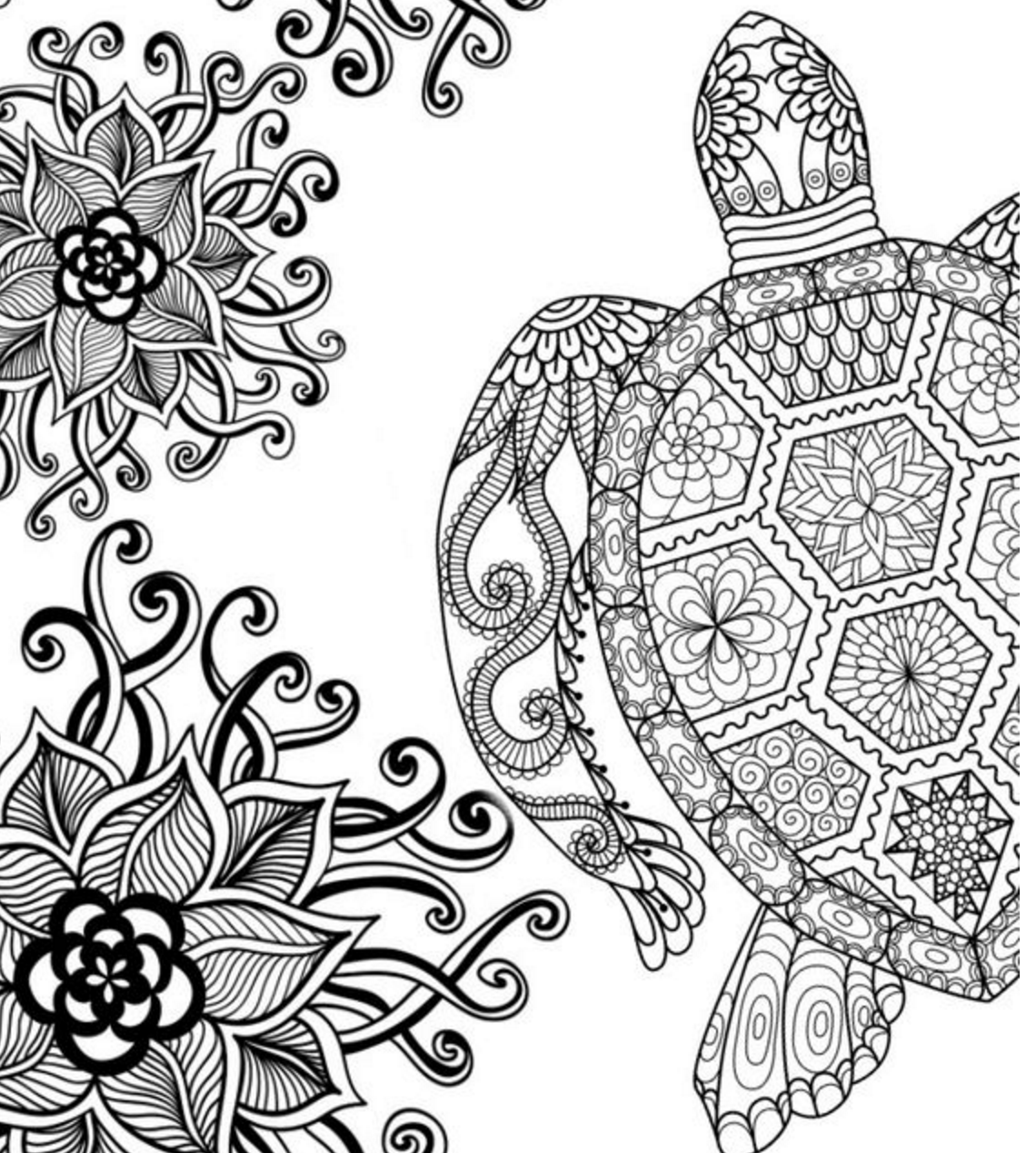 1140x1268 Free Adult Colouring Pages