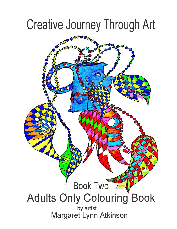 1051x1360 Creative Journey Through Art Book Two