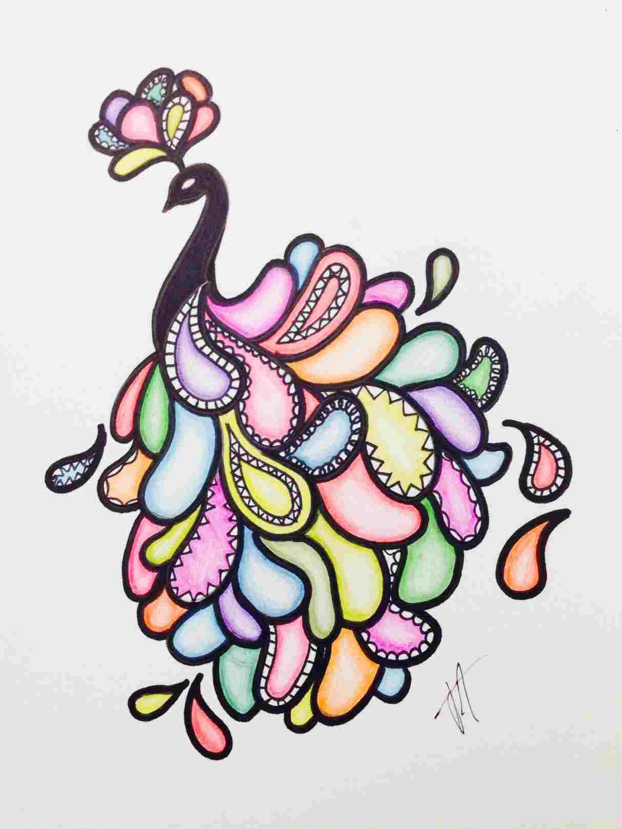 1213x1618 Easy Cute Creative Drawings