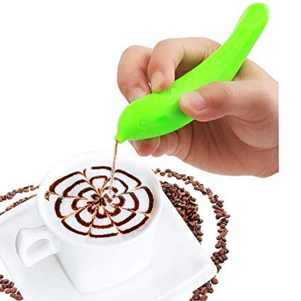 425x425 Electric Spice Pen Coffee Art Pen For Latte Food Art