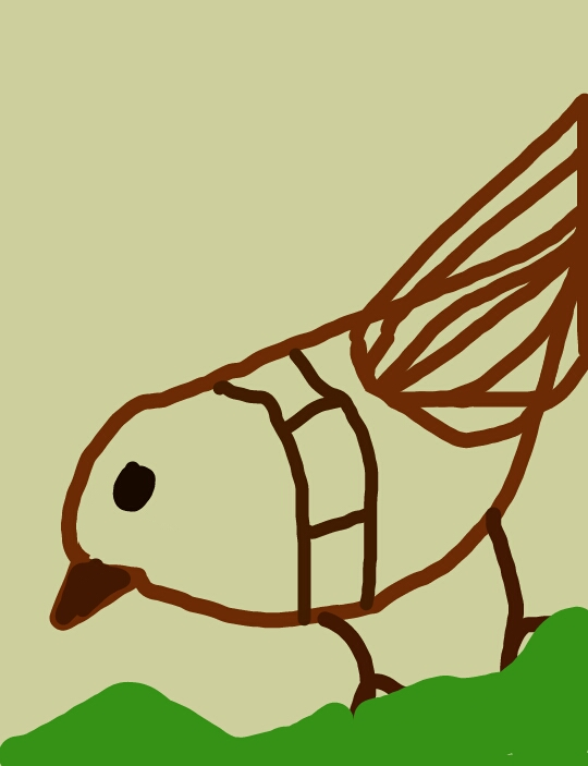 540x703 Bird Drawing In Creative Form Drawings Only