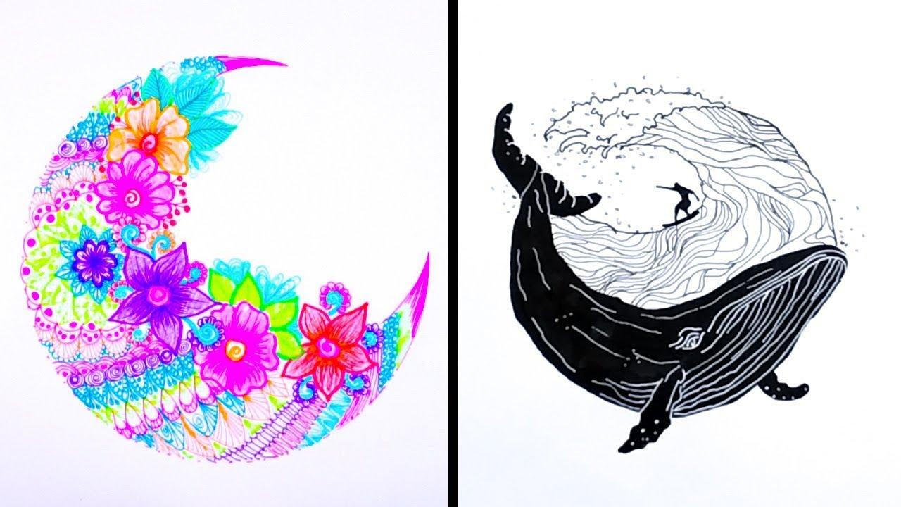 Creative Eye Drawings