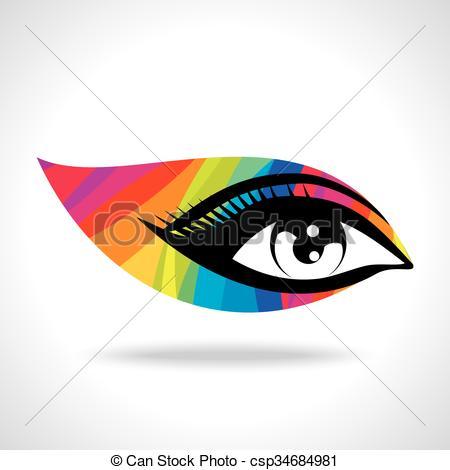 450x470 Colourful Creative Eye