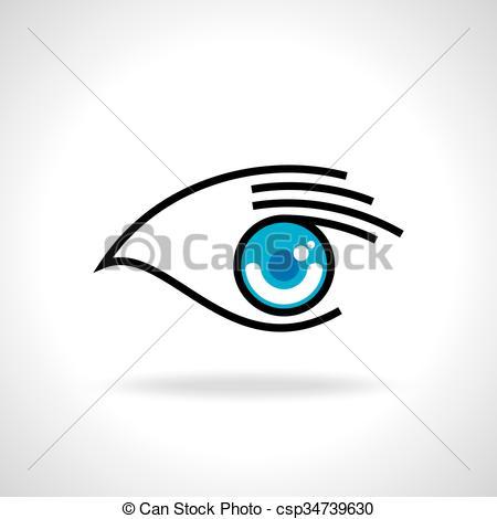 450x470 Creative Eye With Hand Icon