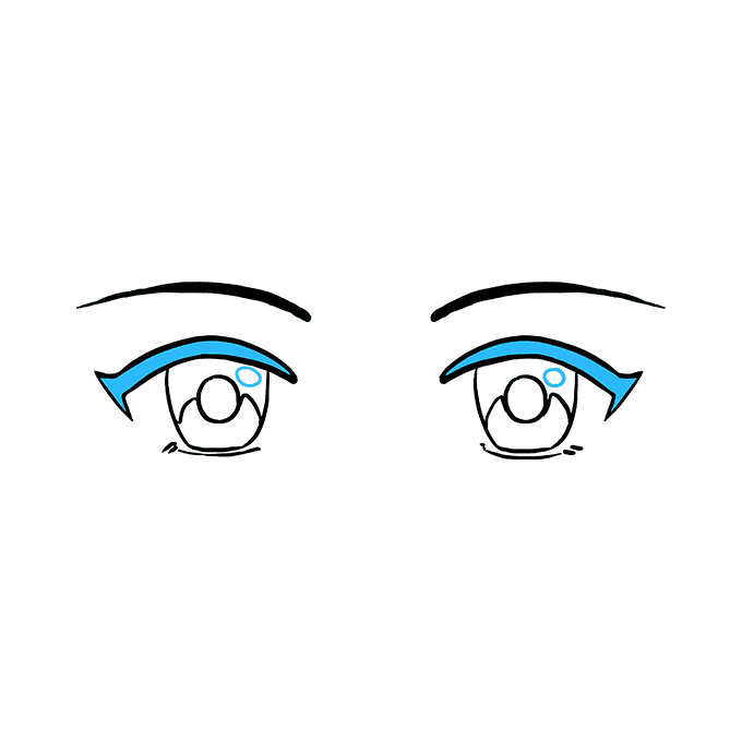 680x678 How To Draw Anime Eyes