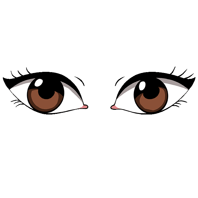 680x678 How To Draw Eyes Really Easy Drawing Tutorial