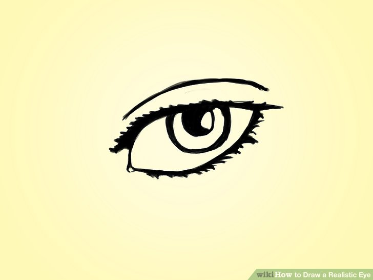 728x546 How To Draw A Realistic Eye Steps