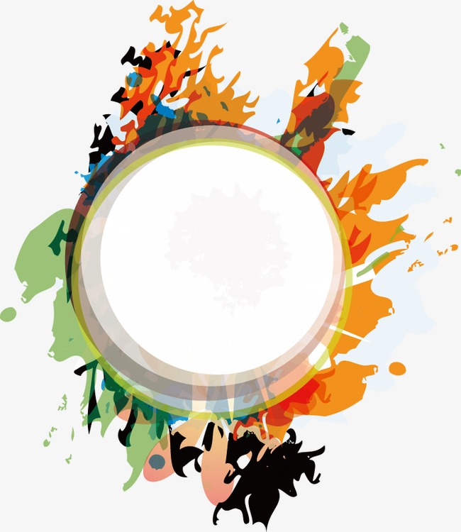 650x750 creative drawing round, round vector, watercolor, painted png