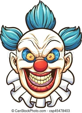 340x470 evil clown drawings evil clown