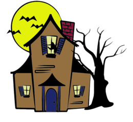 260x240 download creepy house silhouette clipart creepy house haunted
