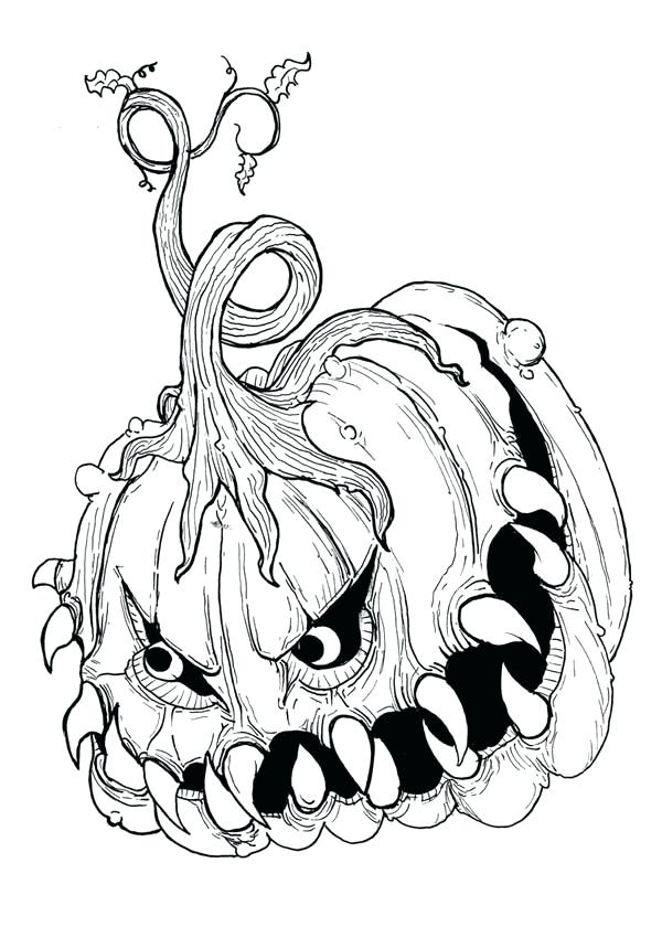 600x840 Free Printable Little Monster Coloring Pages Monster Coloring