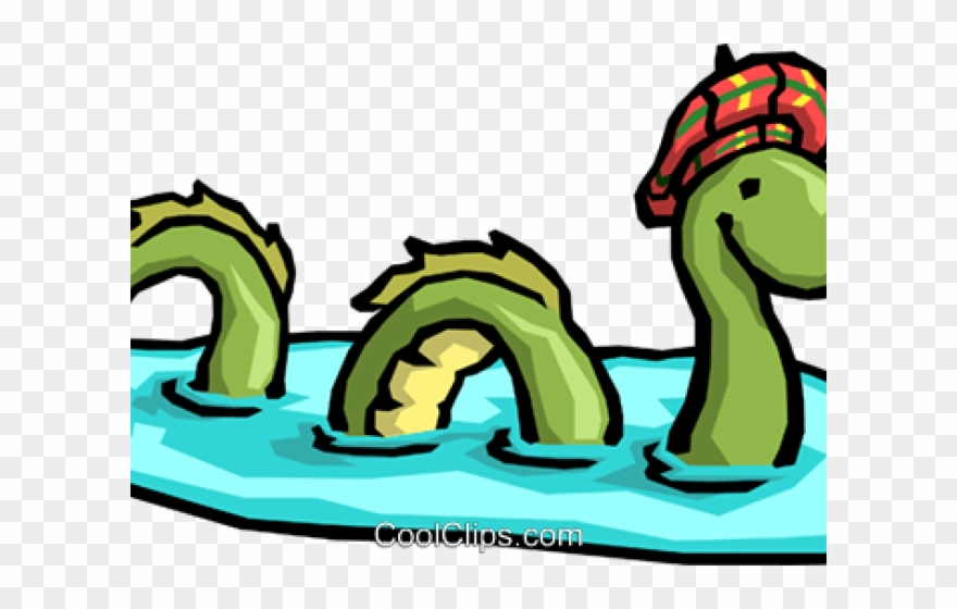 880x560 Sea Monster Clipart Transparent Background