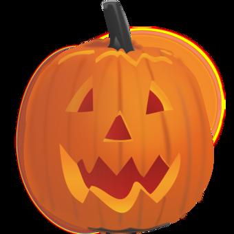 Creepy Pumpkin Drawing