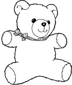 Creepy Teddy Bear Drawing