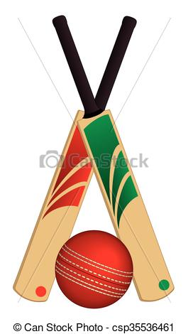 265x470 cricket ball and bats crossed cricket bats crossed