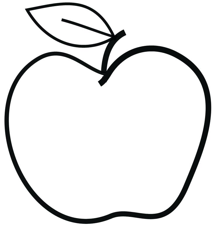735x780 simple apple drawing simple line drawing of an apple simple apple