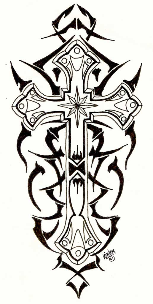 Cross Drawing Designs