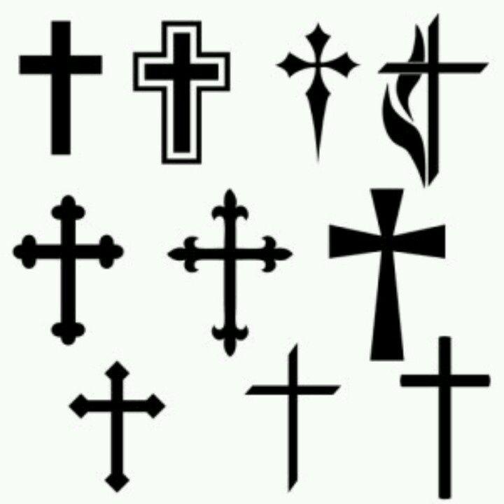 720x720 black cross tattoos design stencil tattoos tattoos, cross