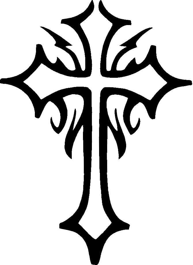 670x920 Collection Of Free Tattoo Drawing Cross Download On Ui Ex