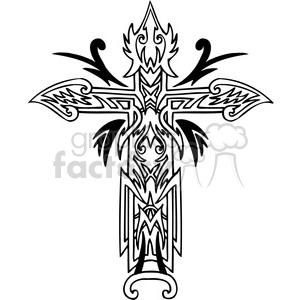 300x300 Cross Clip Art Tattoo Illustrations Clipart Royalty Free