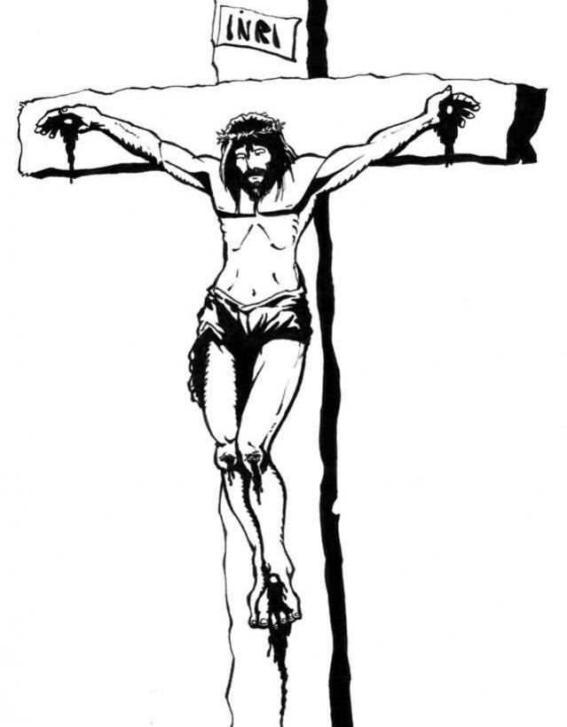 639x820 Black And White Cross Tattoo Free Download Clip Art