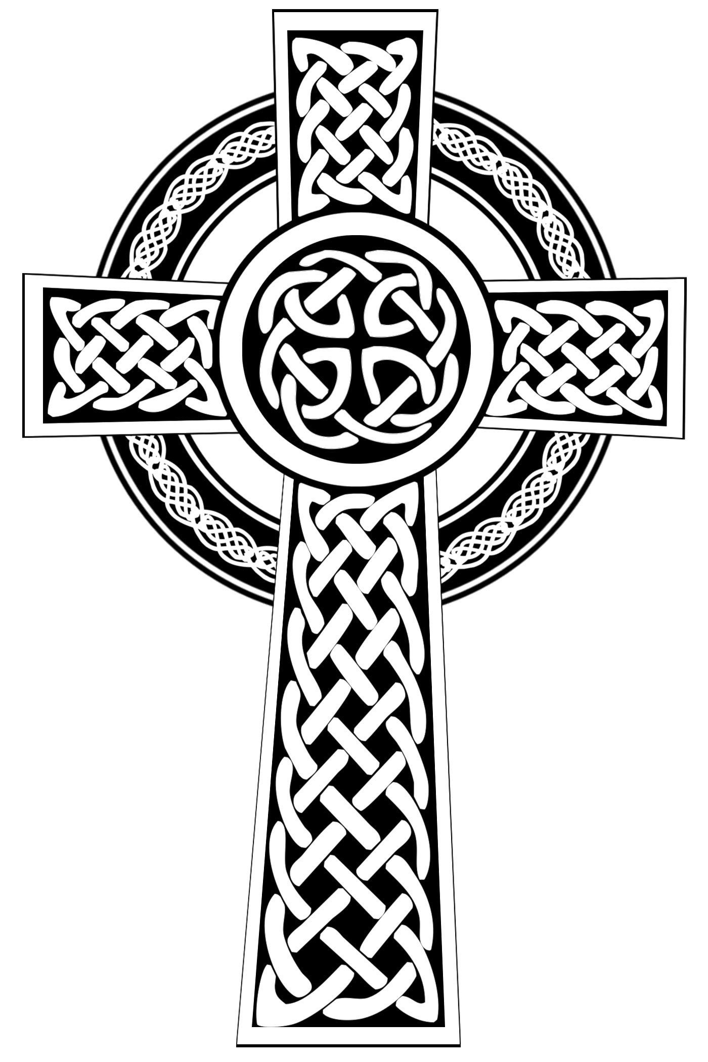 1400x2100 Large Celtic Cross Clip Art Color Ideas And Designs