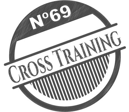 450x391 Cross Training Pencil Draw Freestock Vectors