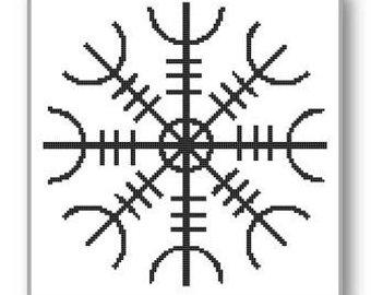 340x270 Viking Cross Stitch Etsy