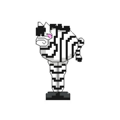 500x500 Zebra Cross Stitch Pattern Lucie Heaton Cross Stitch Designs