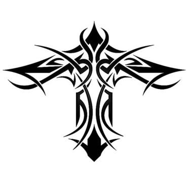375x375 Cross Tattoo Designs