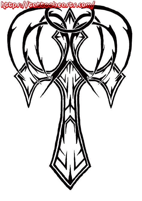 474x670 Cross Tattoo Design Ideas For Women And Girls