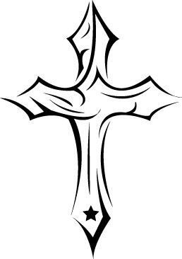 258x366 cross tattoo designs my style tattoo designs, cross tattoo