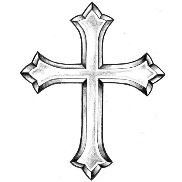 600x600 Cross Tattoos