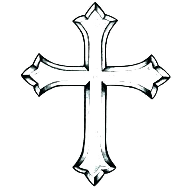 600x600 coloring pages of crosses coloring pages crosses simple angel