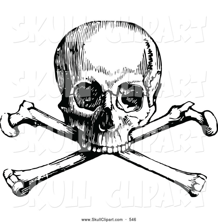 900x918 Download Skull Vintage Clipart Skull And Crossbones Clip Art