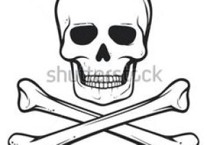 300x210 Drawing Of Skull And Crossbones Black And White Pirate Skull