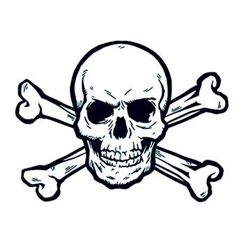 350x350 Drawings Crossbones Tattoos Ideas And Designs
