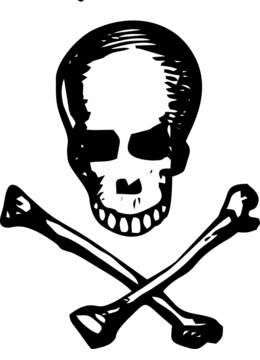 260x360 Skull, Drawing, Head, Transparent Png Image Clipart Free Download
