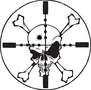 310x306 Skull And Bones Skull And Crossbones Drawing Png, Clipart, Area