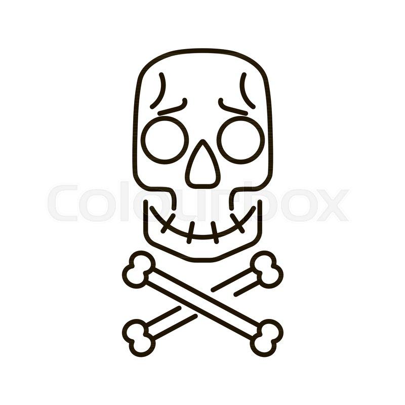 800x800 Skull And Crossbones