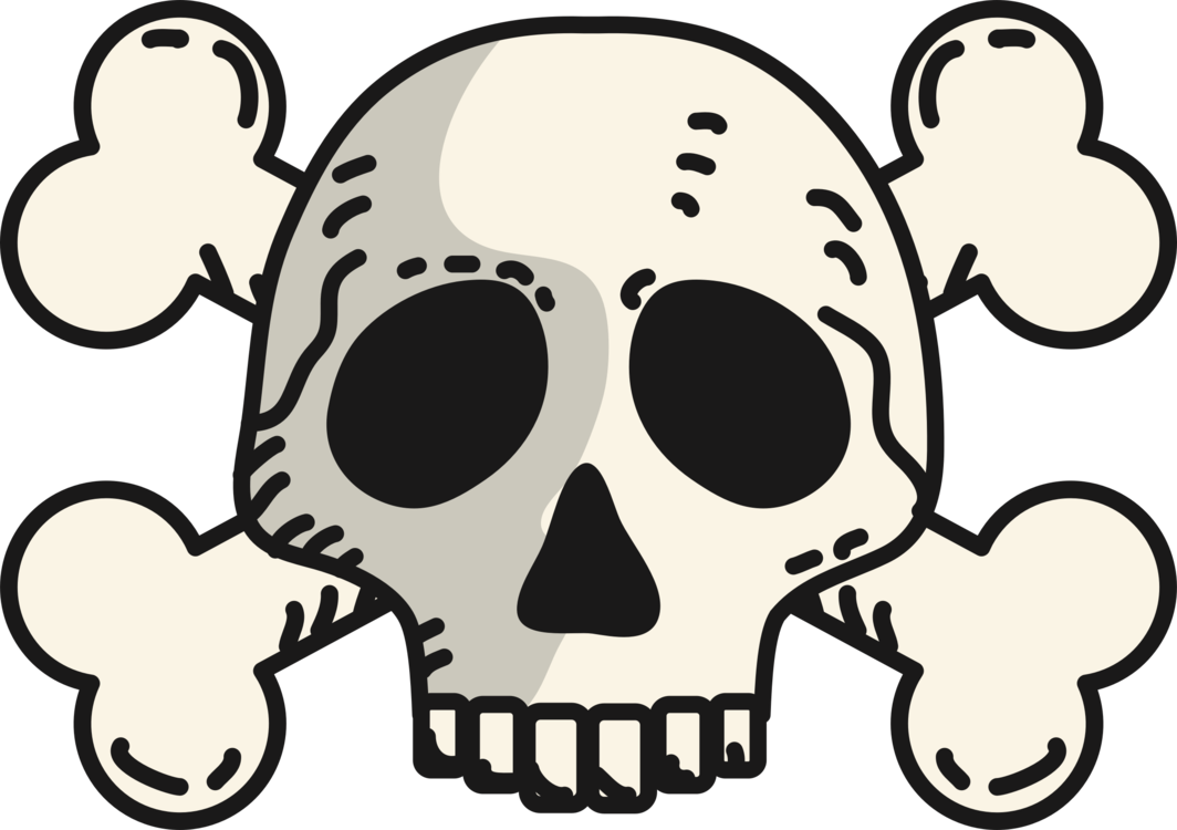 1064x750 Skull And Crossbones Drawing Human Skull Symbolism Skeleton Cc0