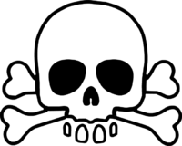 200x161 Skull And Crossbones Drawing Pictures And Cliparts, Download Free
